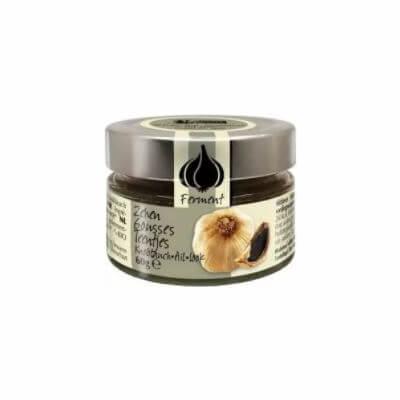 Amanprana - Black Garlic - Fermented / Cloves 60G, Organic