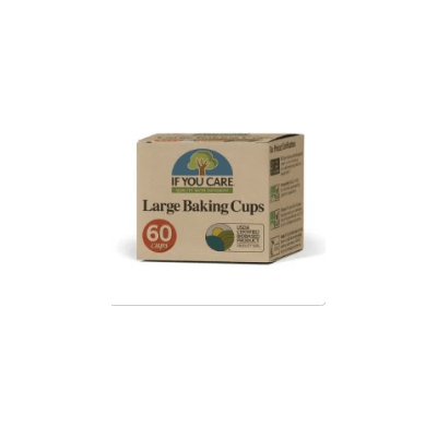 If You Care - Large Baking Cups - Unbleached