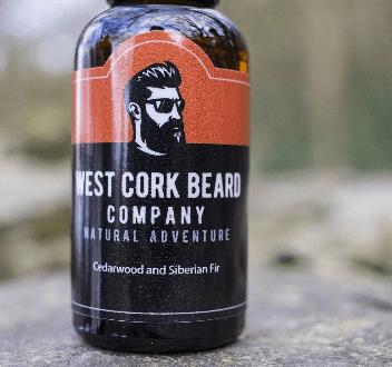 West Cork Beard Company - Beard Oil Cedarwood And Siberian Fir