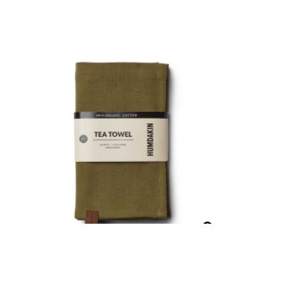 Humdakin - Organic Tea Towel - 2 Pack - Fern Green