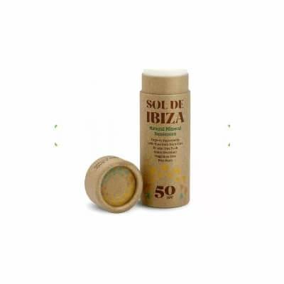 Sol De Ibiza Natural Sunscreen Spf 50 Stick 40G, Organic