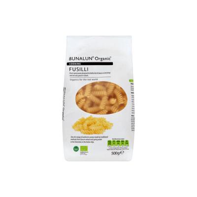 Bunalun Organic Fusilli Pasta