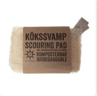 Iris Hantverk - Loofah Scouring Pad/Soap Cushion 2 Pack
