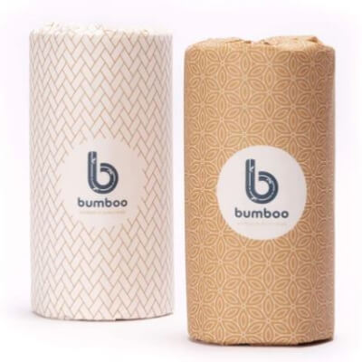 Bumboo - 100% Bamboo Kitchen Towels -Individual Or  12 Rolls Boxed.