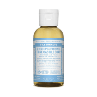 Dr Bronner Pure-Castile Liquid Soap Baby Mild
