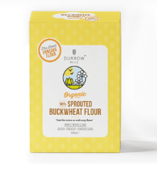 Durrow Mills Organic 100% Sprouted Buckwheat Flour