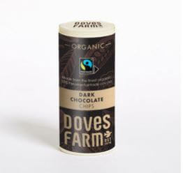 Doves Farm Organic Dark Chocolate Chips 140G