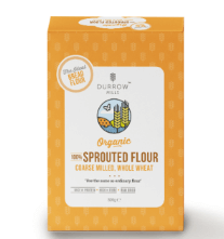 Durrow Mills Organic 100% Sprouted Coarse Milled Wheat Flour