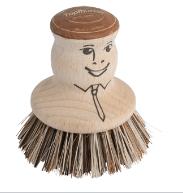 Redecker Brush - Pot Brush - Beechwood