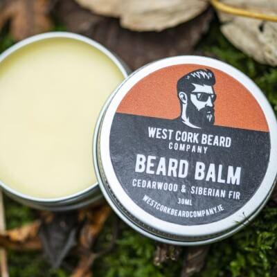 West Cork Beard Company - Beard Balm - Cedarwood And Siberian Fir