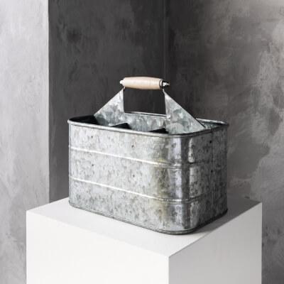 Metal Organising Bucket