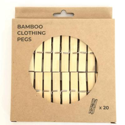 Zerowaste Bamboo Pegs
