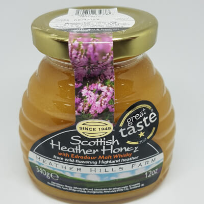 Heather Hills Scottish Heather Honey With Edradour Malt Whisky