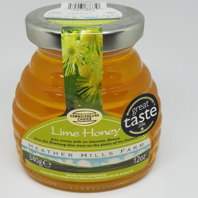 Heather Hills Lime Honey