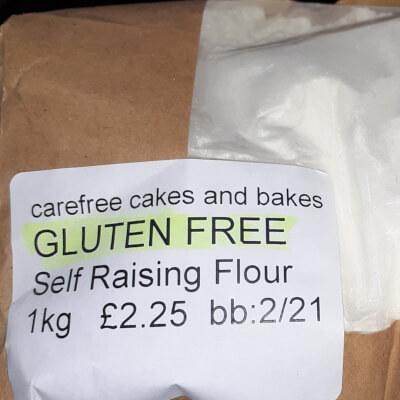 Dove Gluten Free  Self Raising Flour