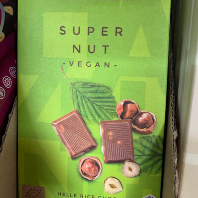 Vegan Supernut Chocolate Bar