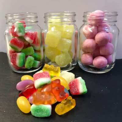 Sweets - Sugar Free Fruit Jellies