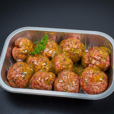 Garlic & Herb Lamb Meatballs (Tray Of 10)
