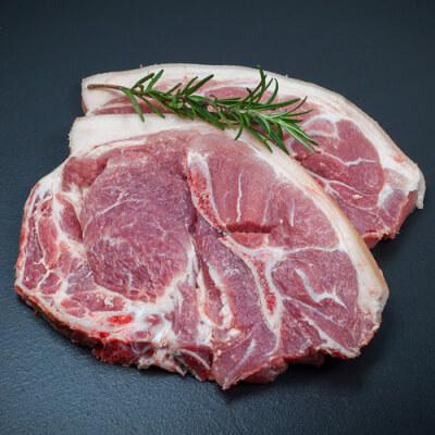 Gigot Pork Chops