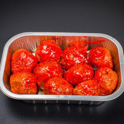 Lean Angus Spicy Italian Meatballs Tray Of 10