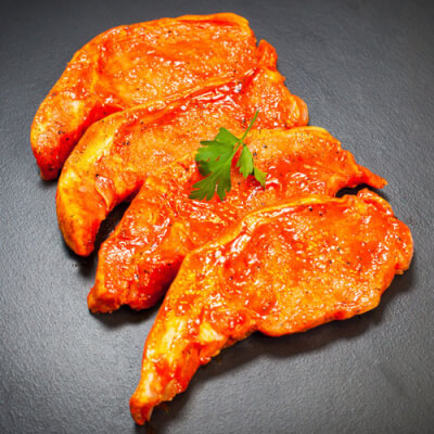 Tomato And Pepper Pork Chops