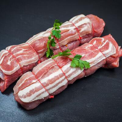 Pork Steak (Stuffed)