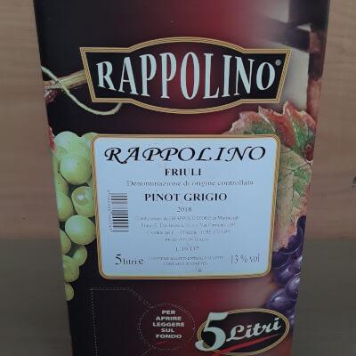 Venezia Guilia Igt Pinot Grigio 5Ltr