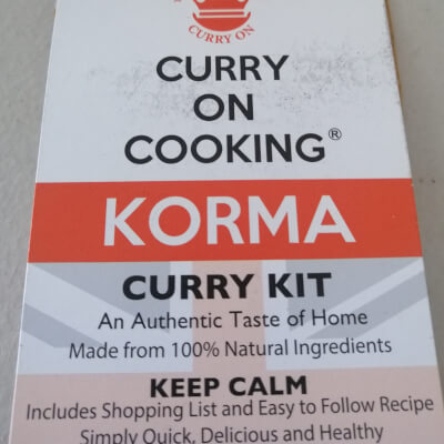 Curry On Cooking Kit Korma