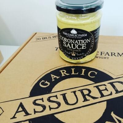 The Iow Garlic Farm Coronation Sauce