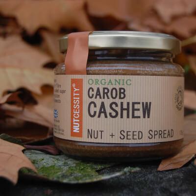 Carob Cashew Nut Butter