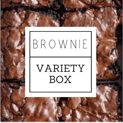 Chocolate Brownie Variety Box 9Pcs