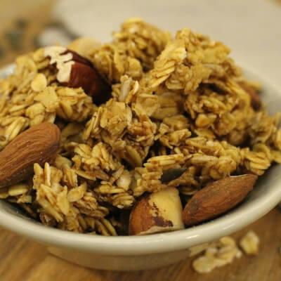 Nutty Granola: Naturally Nutty