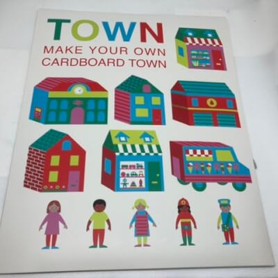 Create Your Own Cardboard Town