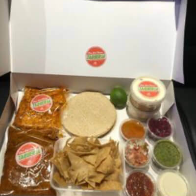 Old Town Taqueria - Cook At Home Taco Kit - Feeds 2 - 3 Pork & Chicken