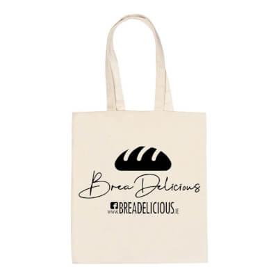 Breadelicious Cotton Bag.