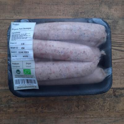 Organic Breakfast Sausage