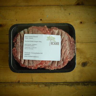 Organic Dexter Beef Burgers (Frozen)