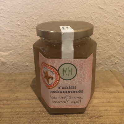 Hilda's Homemade Lemon & Beechleeve Marmalade