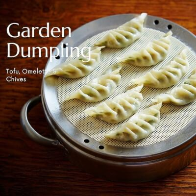 Garden Dumpling Kit | Tofu & Chives