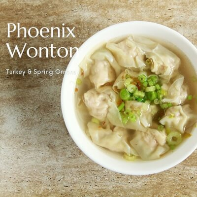 Phoenix Won Ton Kit | Turkey & Spring Onions