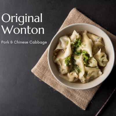 Original Won Ton Kit | Pork & Cabbage