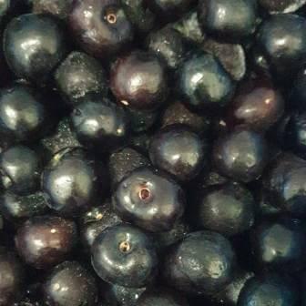 Frozen Black Cherries 1Kg