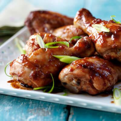 Chinese Glazed Chicken Drumsticks