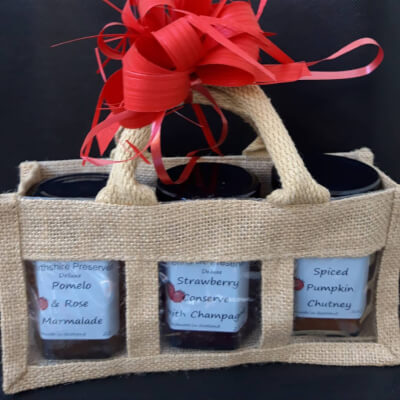 Hessian Gift Bag