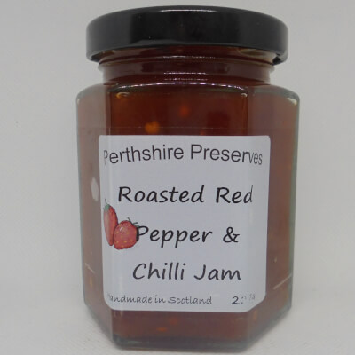 Roasted Red Pepper Chilli Jam