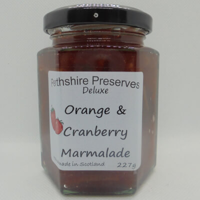 Orange Cranberry Marmalade 1 227 G