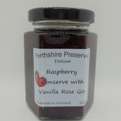 Raspberry Conserve With Mc Queen Gin