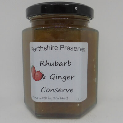 Rhubarb Ginger Jam 1 227 G