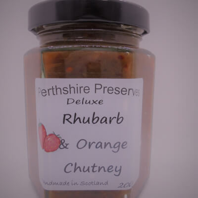 Rhubarb Orange Chutney