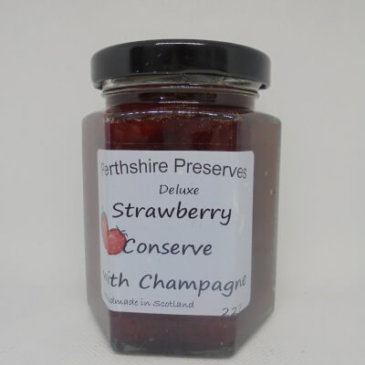 Strawberry Conserve With Champagne 1 227 G